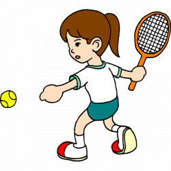 28+ Collection of Kids Playing Tennis Clipart | High quality, free ...