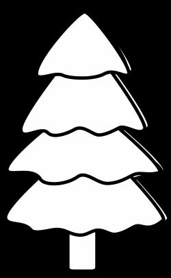 baby nursery ~ Charming Black And White Xmas Tree Clipart Kid ...