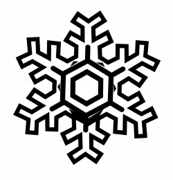 Snowflake Clipart Black And White | Clipart Panda - Free Clipart Images