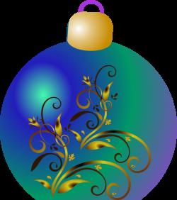 Clipart - Christmas ornament