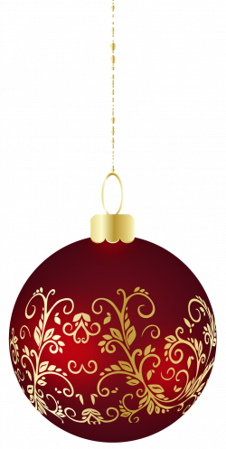 Large Transparent Christmas Ball Ornament PNG Clipart | Chimes ...