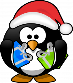 Christmas Penguin Drawing at GetDrawings.com | Free for personal use ...