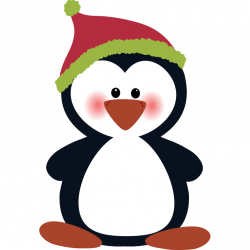 28+ Collection of Penguin Clipart Christmas | High quality, free ...