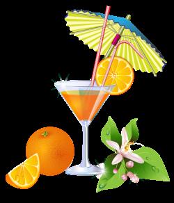 Summer Orange Cocktail PNG Clipart | Cocktails | Pinterest | Clip ...