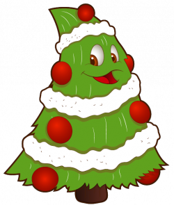 Transparent Funny Small Christmas Tree PNG Clipart | Christmas trees ...