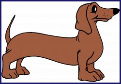 Dachshund Puppy Clip Art - Alternative Clipart Design •