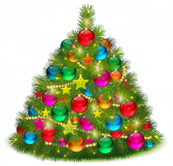 Large Transparent Decorated Christmas Tree PNG Clipart | CHRISTMAS ...
