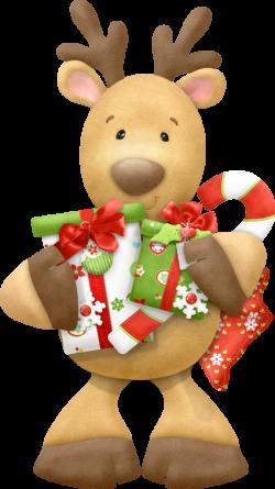 CHRISTMAS REINDEER CLIP ART | CLIP ART - CHRISTMAS 1 - CLIPART ...
