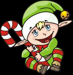 Clipart - Christmas Elf