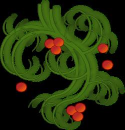 Christmas Swirls Clip Art at Clker.com - vector clip art online ...