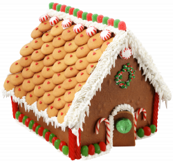 Large Transparent Gingerbread House PNG Picture | Gallery ...
