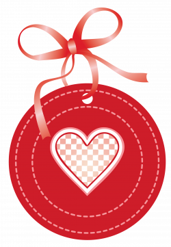 Valentine Oval Label with Heart PNG Clipart Picture | Gallery ...