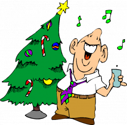 28+ Collection of Free Office Christmas Party Clipart   High quality ...