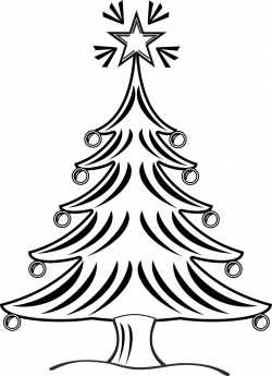 baby nursery ~ Excellent Black And White Christmas Tree Clipart ...
