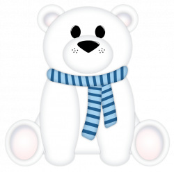 Christmas Polar Bear Clipart at GetDrawings.com | Free for personal ...