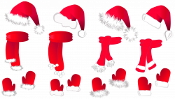 28+ Collection of Santa Hat Clipart Free Transparent | High quality ...
