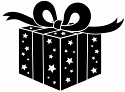 presents png file | Black and White Party Gift - Free Clip Art ...