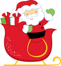 Santa And His Sleigh Clipart at GetDrawings.com | Free for personal ...