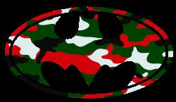 Batman Logo Christmas Camo Cut | Free Images at Clker.com - vector ...