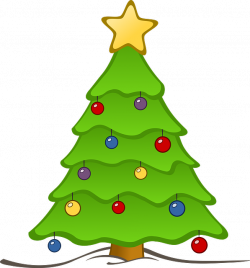 Christmas Tree Star Clipart   Clipart Panda - Free Clipart Images