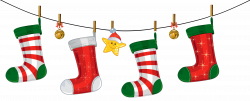 Transparent Christmas Stockings Decoration PNG Clipart | Gallery ...