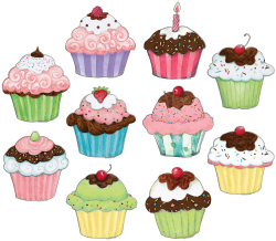 Cupcakes Accents from Susan Winget | Pinterest | Craft