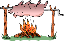 SHERIFF WILL MAKE: Sheriff will be roasting a whole pig! Here is ...