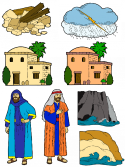 THE WISE MAN AND THE FOOLISH MAN STORY FIGURES | Family Home Evening ...