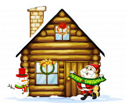 Christmas House Clipart at GetDrawings.com | Free for personal use ...