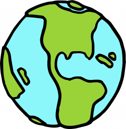 Color clipart earth - Pencil and in color color clipart earth
