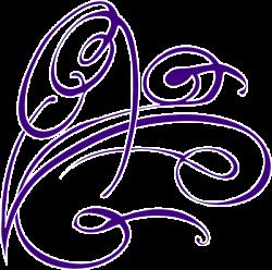 Decorative Swirl Purple Clip Art at Clker.com - vector clip art ...