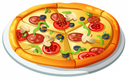Best 65+ Pizza Clipart Images Free Download 【2018】