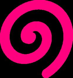 Spiral Pink Clip Art at Clker.com - vector clip art online, royalty ...