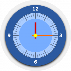 Wall Clock Clip Art at Clker.com - vector clip art online, royalty ...