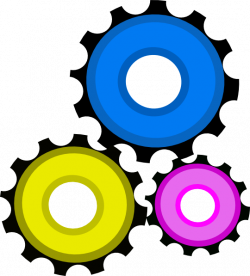 Gear Clock Gears Clip Art at Clker.com - vector clip art online ...