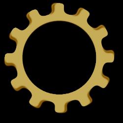 Gear Wheel Clip Art at Clker.com - vector clip art online, royalty ...