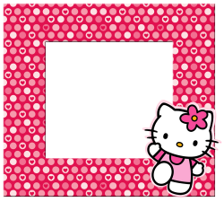 Hello Kitty: Borders, Images and Backgrounds. | Oh My Fiesta! in english