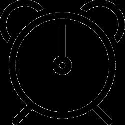 Alarm Clock Svg Png Icon Free Download (#298084) - OnlineWebFonts.COM