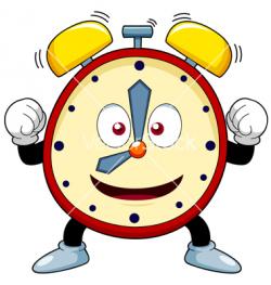 Puppet Clock Clipart