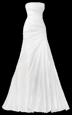 Classical Wedding Dress PNG Clip Art - Best WEB Clipart