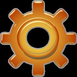 Single Gear Clip Art at Clker.com - vector clip art online, royalty ...