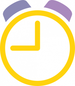 Clock Clipart yellow - Free Clipart on Dumielauxepices.net