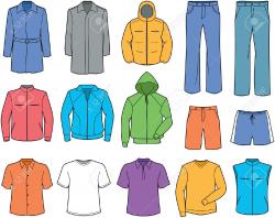 Informal Clothes Clipart