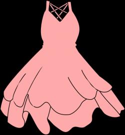 Pink Dress Clip Art at Clker.com - vector clip art online, royalty ...