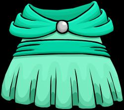 Seafoam Dress | Club Penguin Rewritten Wiki | FANDOM powered by Wikia