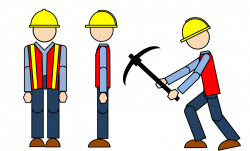 28+ Collection of Construction Workers Working Clipart | High ...