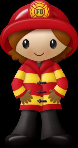 KAagard_FiredUp_Fireman2Girl.png | Pinterest | Clip art, Firefighter ...