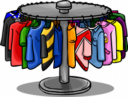Coat clipart clothing rack - Pencil and in color coat clipart ...
