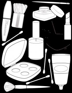 makeup-coloring-page | Illustration | Pinterest | Makeup, Adult ...
