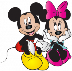 Mickey and Minnie Mouse Free PNG Clip Art Image | Disney | Pinterest ...
